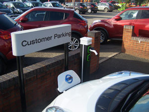 Vehicle charge point fitting Preston 2